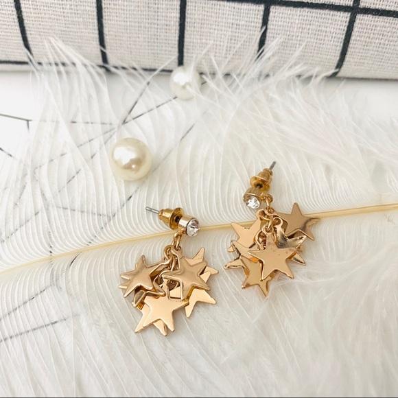 💕LAST ONE Stars Cute Drop Earrings